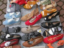 Новая женская обувь из Европы на вес в миксах по 17.5 ев/кг.