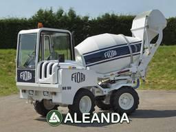 Новий автобетонозмішувач FIORI DB 180