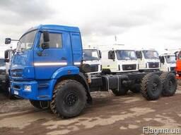 Новое полноприводное шасси 6х6 КамАЗ-43118-3999-48