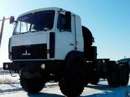 Новое полноприводное шасси МАЗ 6317F9 540 000