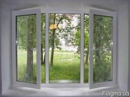 Новое ПВХ окно и тепло сохранено.