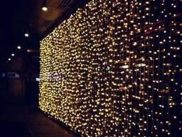 "Новогодняя LED гирлянда-занавес ""Водопад"" 3 х 3м. 480 LED"