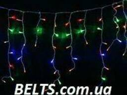 Гирлянда 480 LED Бахрома мультицветная