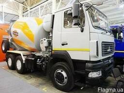 Новый автобетоносмеситель АБС-7 на шасси МАЗ-6312