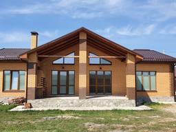 Новый дом у реки в Новоалександровке