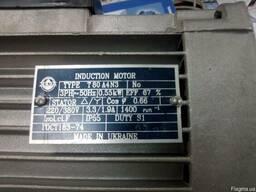 Новый электродвигатель T80A4 N3 0,55kW/1400, исп. ІМ2085(В35) - фото 5