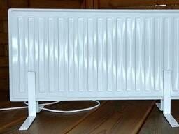 Новый кварцевый обогреватель 0,3 - 0,75 кВт Белый
