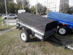 Новый легковой прицеп КРЕОН ПУ ТД 1800