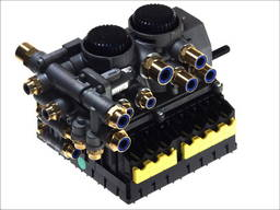 Новый модулятор тиску с фитингами abs 2s/2m, 4s/3m, feber; kogel; krone; schmitz; wielton