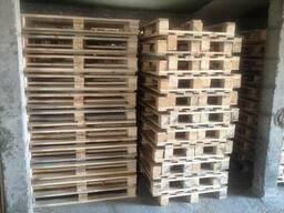 Новый облегченный деревянный европоддон 1200*8000