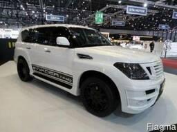 Новый обвес Invader N40 для авто Nissan Patrol с установкой