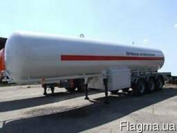 Новый полуприцеп-цистерна газовоз ППЦТ-36