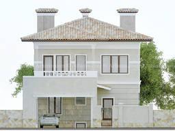 Новый проект двухэтажного дома Одесса Архимас