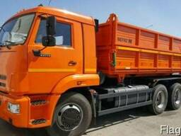 Новый самосвал зерновоз КАМАЗ 45143-6012-48 сельхозник