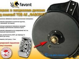 Сошник СЗ зі зміщеними дисками БОР сталь Двухрядний підшипн.