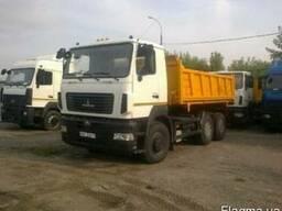 Новый строительный самосвал МАЗ-6501Е9-520-021 г/п 20 тонн