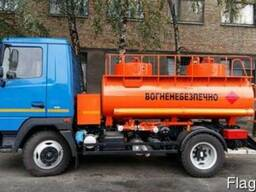 Новый топливозаправщик АТЗ-5 на шасси МАЗ-4371N2
