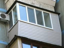 Новые балконы под ключ. Застеклим балкон Буча, Ирпень, Гостомель не дорого и качественно