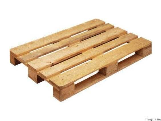 Новые поддоны, ящики и другие виды деревянной упаковки