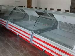 Новые витрины ПВХС Невада- 1,6 м производитель Технохолод (