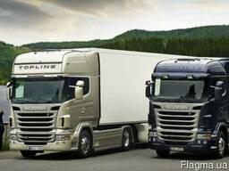 Новые запчасти на грузовики Scania всех моделей