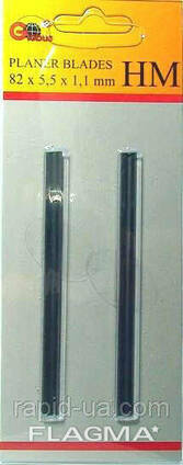 Нож для рубанка Globus 82х5.5х1.1 мм TCT(HM)