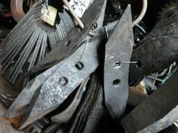 Нож измельчителя поживных остатков, мульчирователя - фото 2
