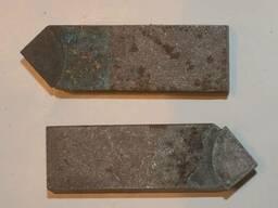 Нож к фрезе Д125-160 мм. косой зуб Т15К6
