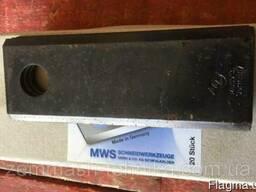 Нож косилки КРН-2,1 длинный (150х56х4) MWS Германия