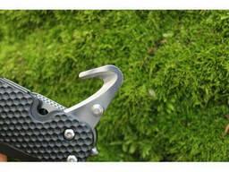 Нож складной со стропорезом и открывашкой Sanrenmu 7045MUI-PH