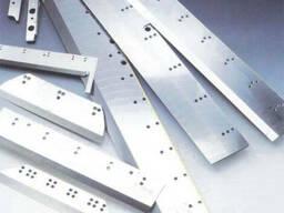 Ножи для бумагорезальных машин и резаков