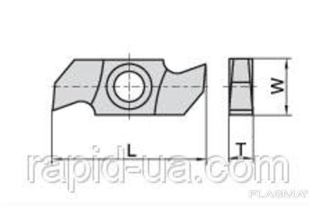 Ножи пазовые 34×16×3,2 Ceratizit Люксембург