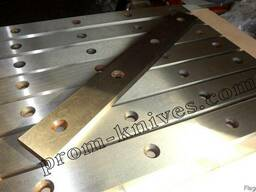 Ножи рубильные для гильотины Н 3111 550х70х25