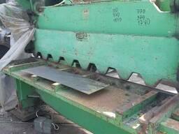 НА 3121 Ножницы гильотинные кривошипные с наклонным ножом