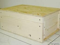 Нуклеус для пчел на 4 отделения с рамками