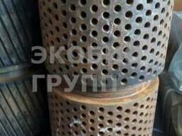 Обечайка190 нарезная, перфорированная для гранулятора ОГМ 1, 5