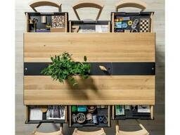 Обеденный стол с ящиками