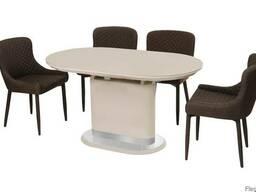 Обеденный стол Vetro Mebel TM-53 Капучино-латте Львов