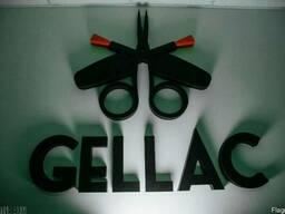 Объемные буквы,вывеска,наружная реклама,логотип из пенопласт