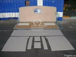 Обивка кабины КамАЗ с низкзкой крышей со спальным местом