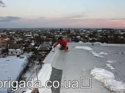 Облаштування покрівлі взимку, роботи високої якості