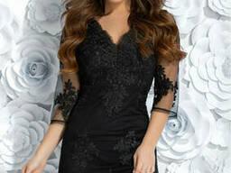 Облегающее вечернее платье с 44 по 48 размер