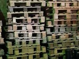 Новые деревянные поддоны 1200*800 (облегчёнка, 6-7 досок)