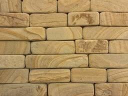 Облицовочная плитка из натурального камня песчаника