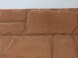 Сланец капучино - облицовочный кирпич из бетона. ..