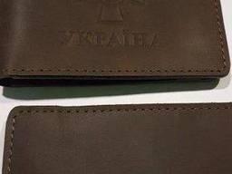 Обложки кожаные на удостоверение Нацгвардии, код : 452.