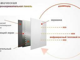 Обогреватель керамический энергозберигающий-375 Ватт - фото 4