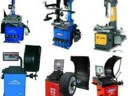 Оборудование для шиномонтажа и балансировочные станки