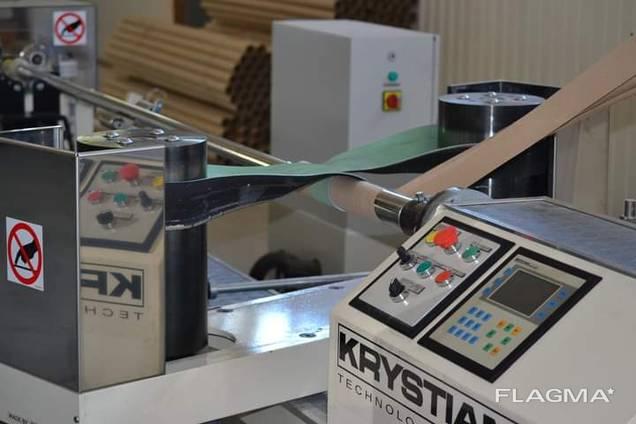 Оборудование для производства бумажной втулки/гильзы/катушки.