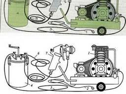 Оборудование для окраски СО-5А покрасочный аппарат.